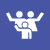 People_family_parents-and-child_waving-07
